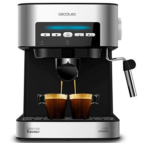 Mejor cafetera express manual por menos de 100€: Cecotec Power Espresso Matic