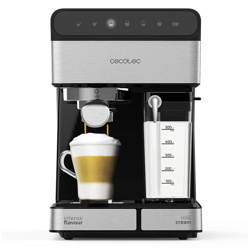 Las mejores cafeteras express manuales: Cecotec Power Instant-ccino 20 Touch